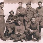 At Rikovo, Russia, in early 1942, first from right.