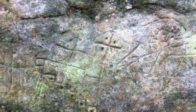 Petroglyphs in the Val d'Assa.