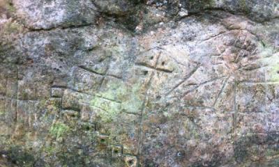 Petroglyphs in the Val d'Assa.