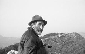 Mario Rigoni Stern among his mountains