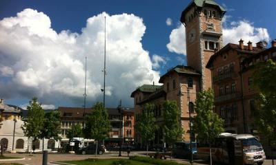 Il Palazzo della Reggenza, oggi municipio di Asiago.