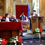 The conferment of an honorary doctorate in 2007 from the University of Genoa.