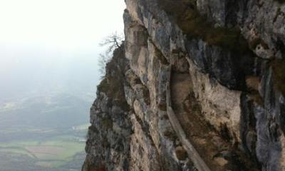 Lo strapiombo del monte Cengio