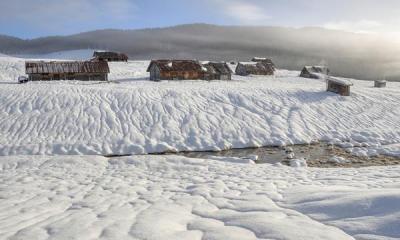 The plain of Marcesina in winter (ph: Roberto Costa Ebech).