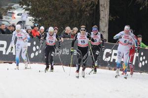 Cross-country ski contest in Asiago (ph: Roberto Costa Ebech)
